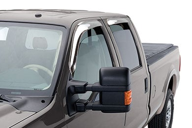 AVS External Mount Chrome Ventvisors