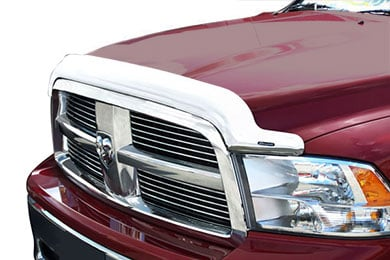 Ford Excursion Stampede Vigilante Premium VP Series Chrome Hood Protectors