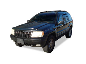 Jeep Grand Cherokee AVS Bug Deflectors