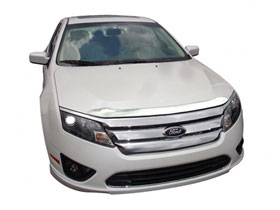 Ford Fusion AVS Chrome Aeroskin Hood Protector