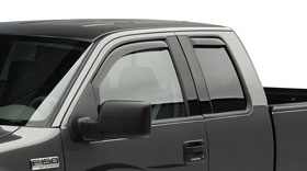 Ford F-150 EGR In-Channel Window Visors