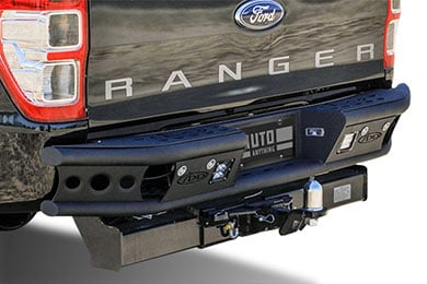 Chevy Silverado Addictive Desert Designs Dimple Rear Bumper
