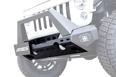 Aries TrailChaser Jeep Front Bumper