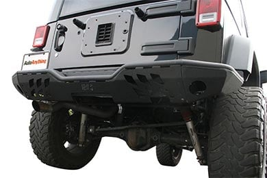 Jeep Wrangler Aries Replacement Rear Jeep Bumpers