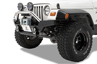 Jeep Wrangler Bestop HighRock 4x4 High Access Front Bumpers