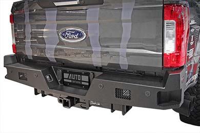 dee zee k series rear bumper hero