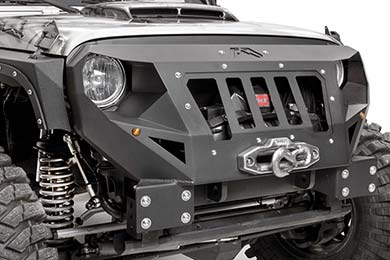 Jeep Wrangler Fab Fours Grumper Jeep Front Bumper