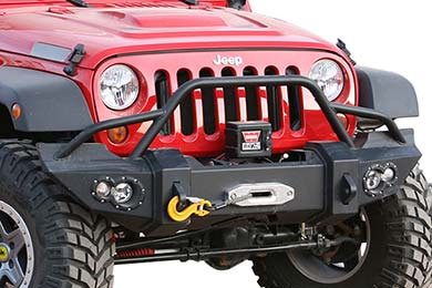Jeep Wrangler Fab Fours Lifestyle Front Bumper