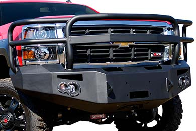 Ford F-250 Fab Fours Premium Front Bumper