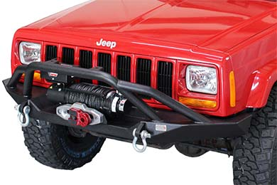 Jeep Cherokee Fishbone Offroad Bullhead Front Bumpers