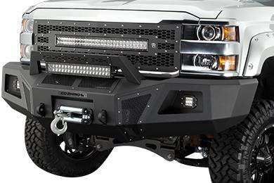 Chevy Silverado Go Rhino Front Bumper