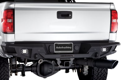 Ford F-350 Go Rhino Rear Bumper