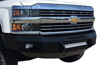 iron cross hd low profile front bumper  2