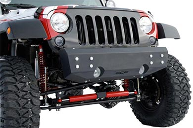 Jeep Wrangler Off Camber Fabrication Bumpers by MBRP