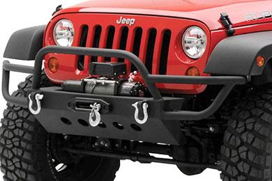 Jeep Wrangler N-Fab RWB Front Winch Bumper