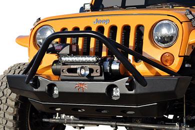 Jeep Wrangler Poison Spyder RockBrawler Front Bumpers