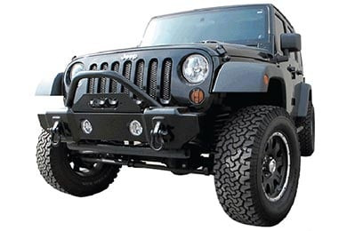 Jeep Wrangler Rampage Front Stubby Recovery Bumper