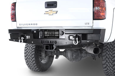 Jeep Wrangler Ranch Hand Horizon Rear Bumper