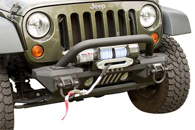 Jeep Wrangler Rugged Ridge Aluminum XHD Front Bumper System