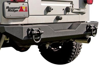 Rugged Ridge XHD Rear Bumpers