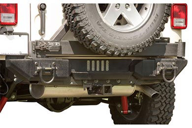 Rugged Ridge Aluminum XHD Rear Bumper System