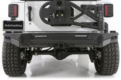 Jeep Wrangler Smittybilt GEN2 SRC Rear Bumper