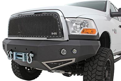 Ford F-250 Smittybilt M1 Front Winch Bumper