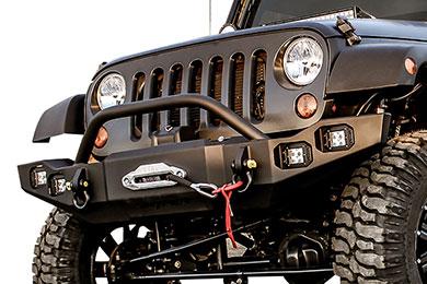 Jeep Wrangler Snyper Marksman Front Bumper