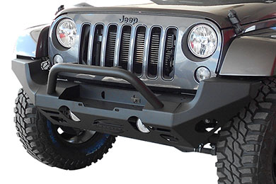 Jeep Wrangler Steelcraft Modular Jeep Front Bumper