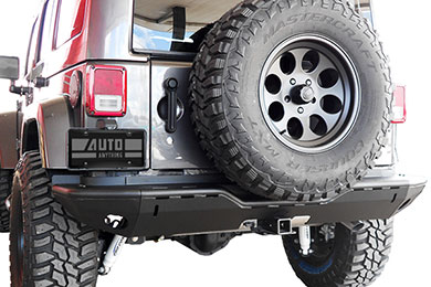 Jeep Wrangler Steelcraft Modular Jeep Rear Bumper