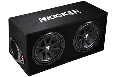 kicker comp loaded enclosures