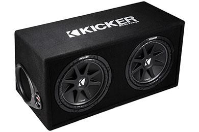 kicker comp loaded enclosures