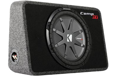 kicker comp rt loaded enclosures