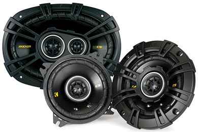 Jeep Wrangler Kicker CS-Series Coaxial Speakers