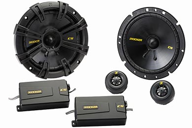 Jeep Wrangler Kicker CS-Series Component Speaker Systems