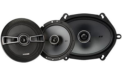 Kicker KS-Series Coaxial Speakers