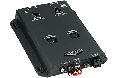 kicker kx2 2 way active electronic crossover