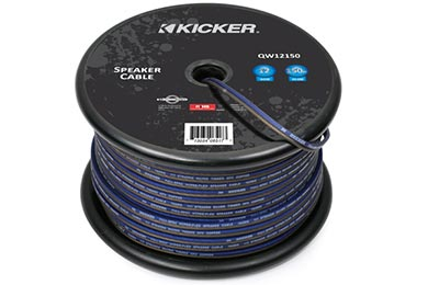 kicker q series speaker wire