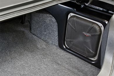 Jeep Wrangler Kicker VSS SubStage Subwoofer Upgrade System