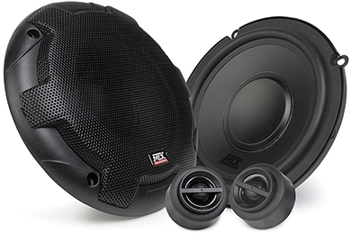 Jeep Wrangler MTX Terminator Component Speaker Systems