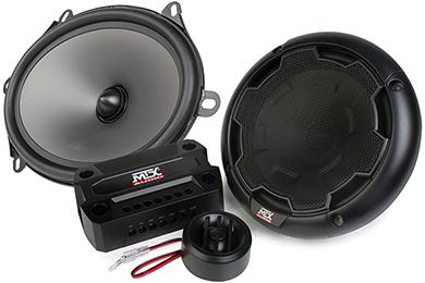 Jeep Wrangler MTX Thunder Component Speaker Systems