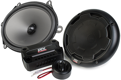 mtx thunder component speaker systems