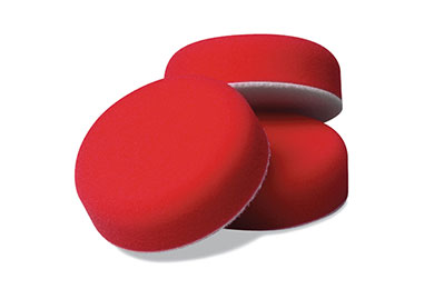 griots garage mini red foam waxing pads