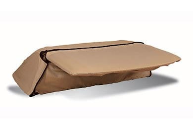 Chevy Corvette Covercraft Tan Flannel Convertible Hardtop Cover
