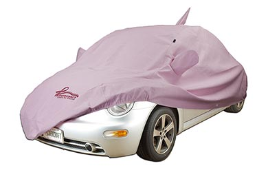 Chevy Corvette Covercraft Pink Ribbon Noah Custom Car Cover for a Cause