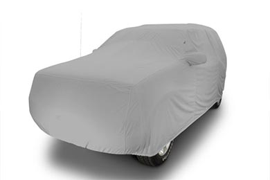 FS1869F5 Fleeced Satin Covercraft Custom Fit Car Cover for Select Desoto Models Black
