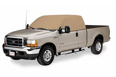 GMC Sierra Covercraft Tan Flannel Cab Cooler