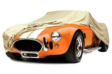 Plymouth PJ Covercraft Tan Flannel Custom Car Cover