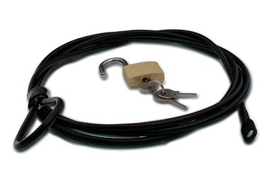 Chevy Corvette Coverking Car Cover Lock & Cable