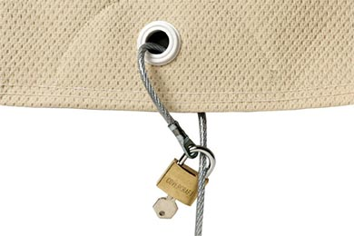 Plymouth Deluxe P19 Covercraft Lock and Cable